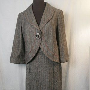Wool Suit with lots of tailoring details